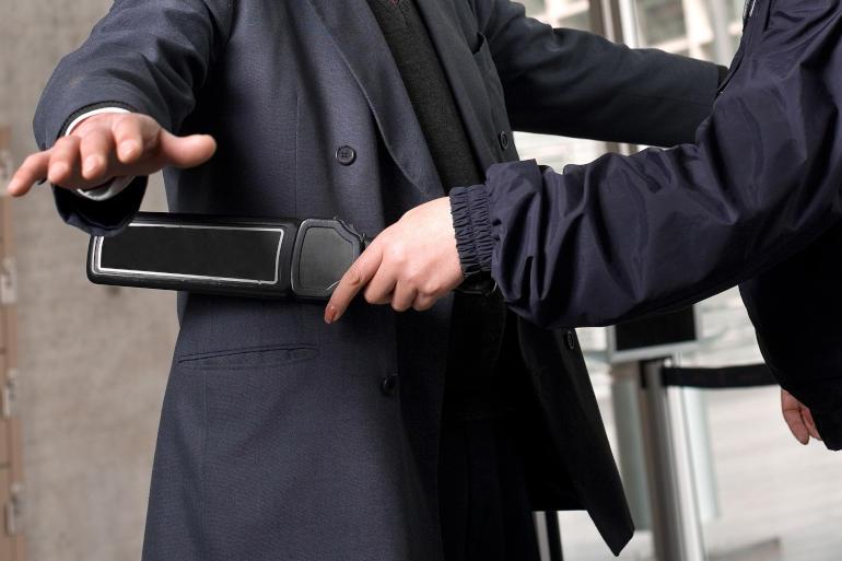 Einlasskontrollen sind eine Sicherheitsdienstleistung des Sicherheitsexperten SiBerPlan