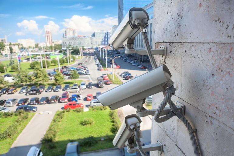 Die Videoüberwachung ist eine der Sicherheitsdienstleistungen des Sicherheitsexperten SiBerPlan